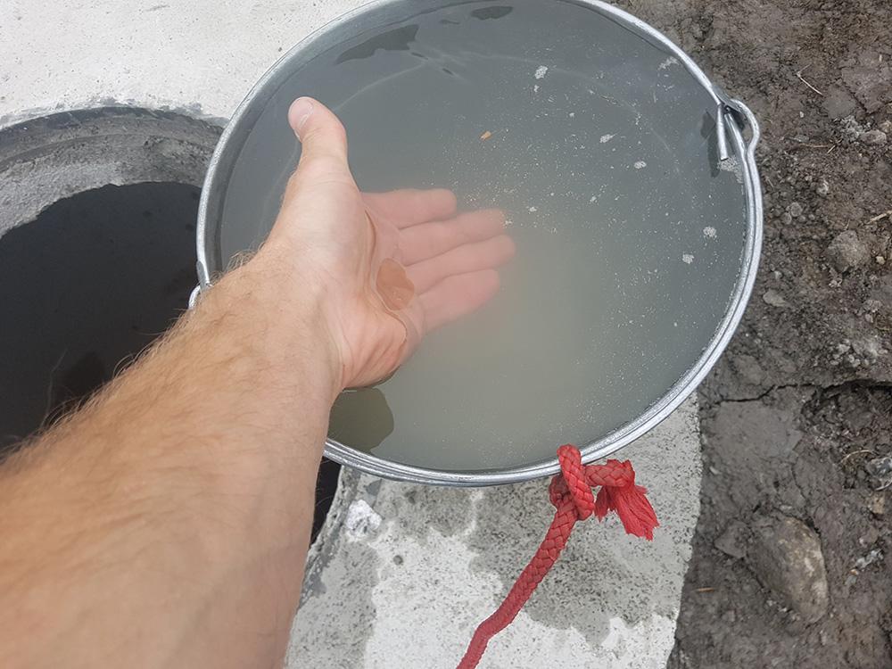 копка колодцев с кольцами